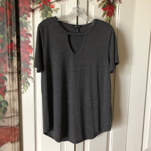 B Collection Tops - B COLLECTION Knit Tunic Tee
